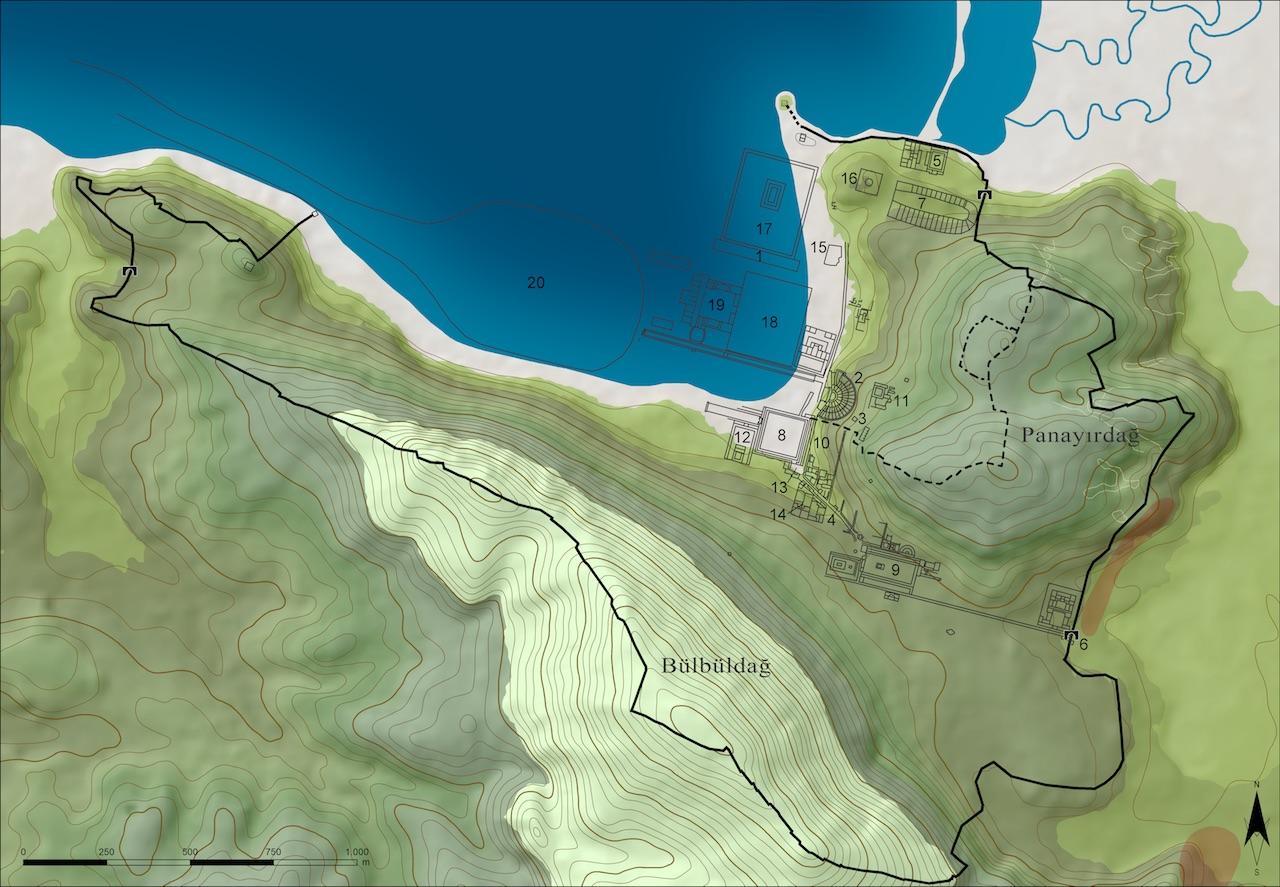 : Ephesos ve aşağı Kaystros vadisinin genel bir görünümü (© ÖAW-ÖAI, N. Gail)