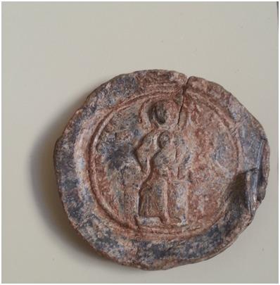 Mühür, Kurşun, Bizans