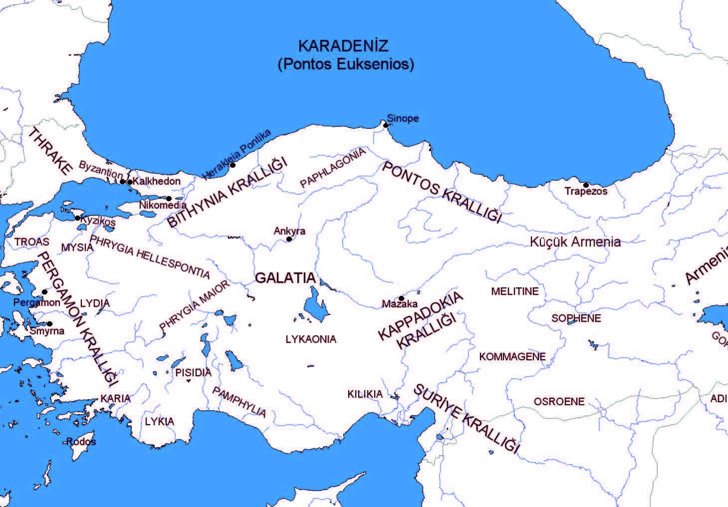Hellenistik Krallıklar [MÖ 2. yüzyıl]