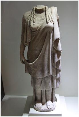 Kadın Heykeli, Mermer, Roma Dönemi