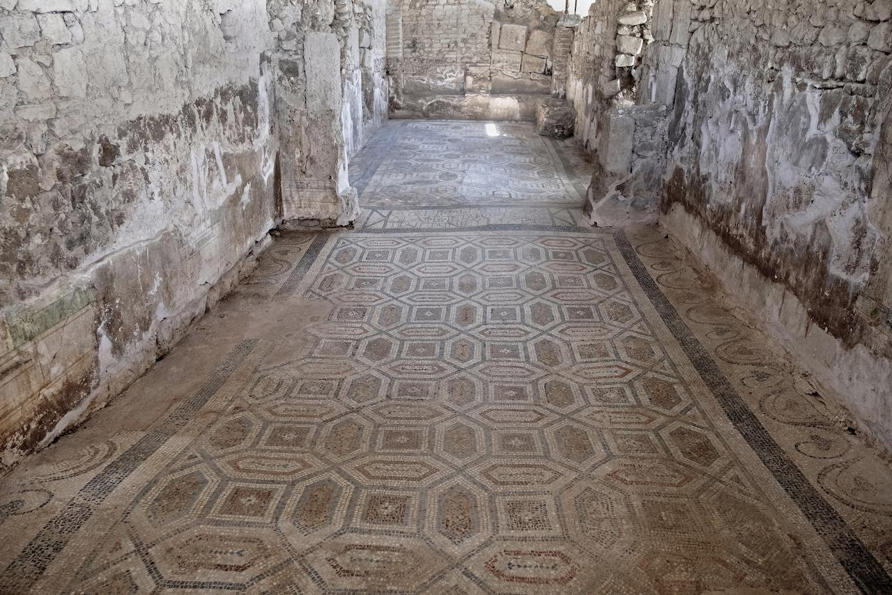 ANTANDROS Roma Dönemi Villası hamamı   - (Fotoğraf; Firdevs Sayılan)