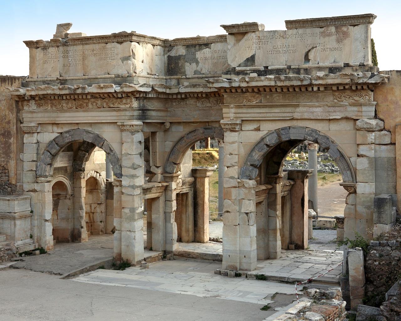 Aşağı Agora'nın Güney Kapısı (© ÖAW-ÖAI, N. Gail)