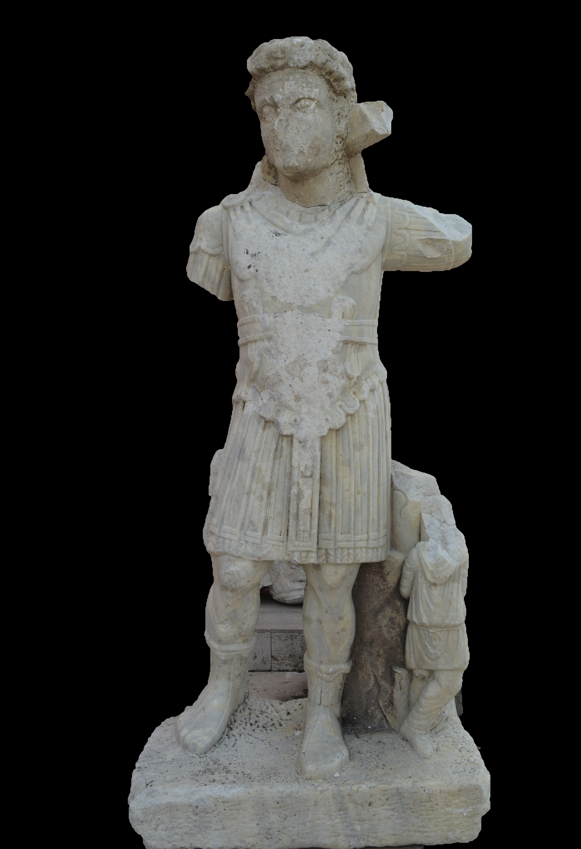 imparator heykeli